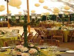 fabulous rustic outdoor wedding reception asian decorating ideas