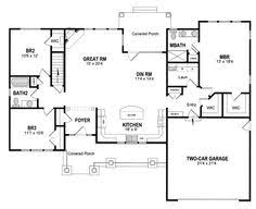 house plans with kitchen in front plan 19530jf split bedrooms for privacy craftsman ranch ranch