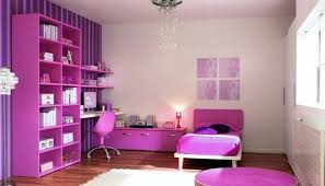 Purple Pink Bedroom - contemporary bedroom ideas for teenage girls with purple colors
