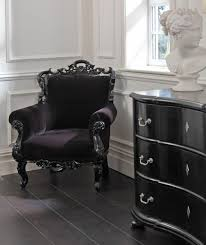 black velvet bedroom chair luxury black velvet baroque bedroom chair furniture seating chair