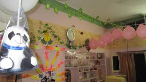 how to make birthday decoration at home lovely happy birthday decoration in home 6 by rustic article happy
