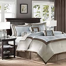Madison Park Hanover 7 Piece Comforter Set Amazon Com Madison Park Lincoln Square 8 Piece Comforter Set