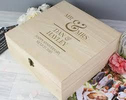 wedding keepsake box wedding keepsake box etsy
