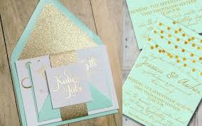 mint wedding invitations mint and gold wedding invitations uk meichu2017 me