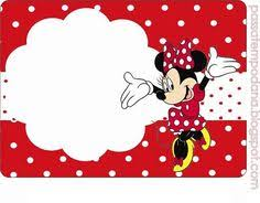 minnie mouse printable party invitation template girls free