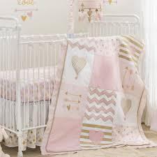 Lamb Nursery Bedding Sets by Lambs U0026 Ivy R Baby Love Pink Gold Heart 4 Piece Crib Bedding Set