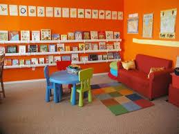 bookcase kids room rain gutter bookshelves homeschool room wall