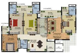 3 Bedroom Flat Floor Plan by Luxury 3 Bedroom Apartment Floor Plans