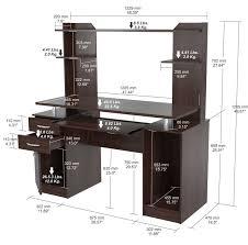 inval computer desk with hutch inval work center computer desk with hutch reviews wayfair