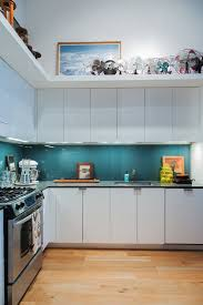 back painted glass kitchen backsplash glass backsplash ideas for the kitchen apartment therapy