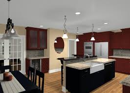 modern ideas for decorating your kitchen using wall mounted brown