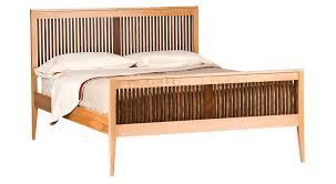 luna bed circle furniture heritage luna bed cherry beds boston circle
