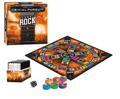trivial pursuit 80s classic rock trivial pursuit toys