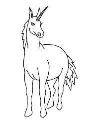 coloriages de licorne