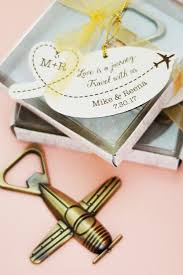 bottle opener favors airplane bottle opener favor with personalized tag is a