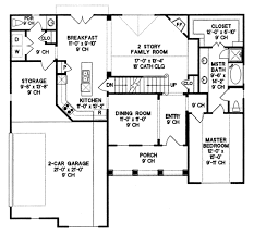 country style house plan 3 beds 2 50 baths 1819 sq ft plan 20 262