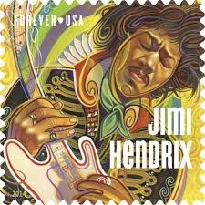 Usps First Class Shipping Time Map Usps New Jimi Hendrix Forever Stamp Sheet Of 16 Ebay