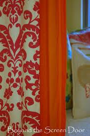 Pink And Orange Curtains Pink Damask Orange Curtains Sonya Hamilton Designs
