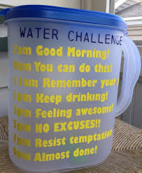 Water Challenge How To Do Water Challenge Gallon Plastic Pitcher Water And Excercise