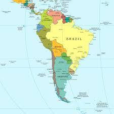 Political Maps South America Political Map South America Mapsland Maps Of