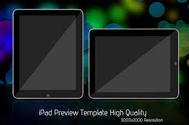 ipad preview template 3kx2k by seifer designs on deviantart
