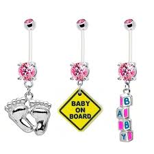 baby rings jewelry images 19 best bodybits pregnancy belly button rings images on jpg