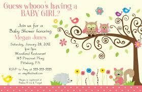 Card Shower Invitation Owl Baby Shower Invitations Stephenanuno Com