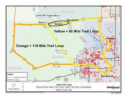 Dallas County Map Let U0027s Connect Trail Project Dallas County Ia