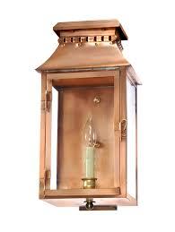 Copper Flush Mount Light Ov 175 Wall Light Copper Lantern Gas And Electric Lighting
