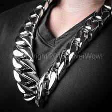 stainless steel link necklace images 30mm heavy stainless steel cuban link chain jpg