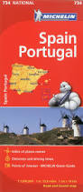 Map Of Portugal And Spain Michelin Spain U0026 Portugal Map 734 Maps Country Michelin