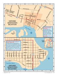 Map Of Beaufort Sc Bluffton Sc Map Evanston Il Map How Many Miles Of Passageways Been