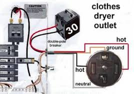 4 prong dryer outlet wiring diagram 4 wiring diagrams collection