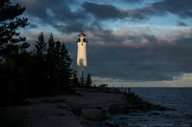 lake superior lighthouse keeping at crisp point 365 days of birds