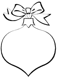 ornament line drawing coloring pages