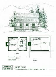 cabin blue prints uncategorized one level log home plan sensational inside