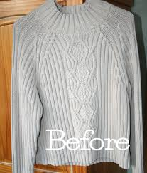 upcycle a thrift store sweater just in time for s day
