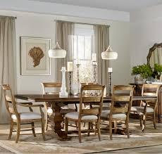 hooker furniture archivist 7 piece dining set with ladderback