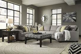 Cuddler Sofa Sectional Cresson Pewter Raf Cuddler Sectional From Ashley Coleman Furniture