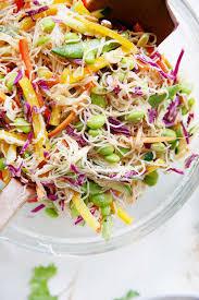 cold salads cold asian noodle salad video lexi s clean kitchen