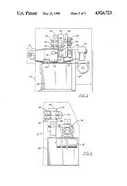 patent us4926723 machine tool auxiliary function hydraulic