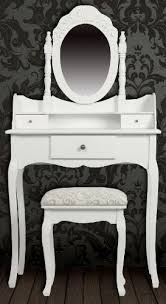 shabby chic dressing tables with stool and vanity table mirror