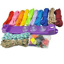 amazon black friday weving ucec parachute cord jig bracelet wristband plastic maker loom