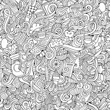 Seamless Pattern Food | cartoon vector doodles hand drawn food seamless pattern stock