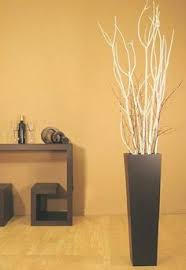 Oversized Vase Home Decor Willow Branch And Silver Dollar Branches In Tall Glass Vases With