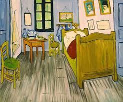 chambre de gogh vincent gogh la chambre de vincent tableau de grands peintres