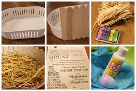Easter Basket Decorations Ideas by Make Easter Basket Crafts Phpearth