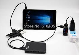 Otg Hub Usb Otg Hub Charge With 4 Ports For Tablet Thinkpad 8 X98 Vivotab