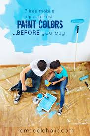 paint your home remodelaholic free diy mobile apps to test paint colors using your