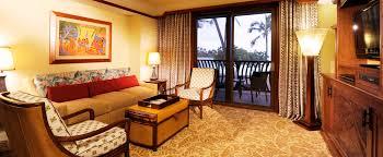 The Living Room by One Bedroom Villa Aulani Hawaii Resort U0026 Spa